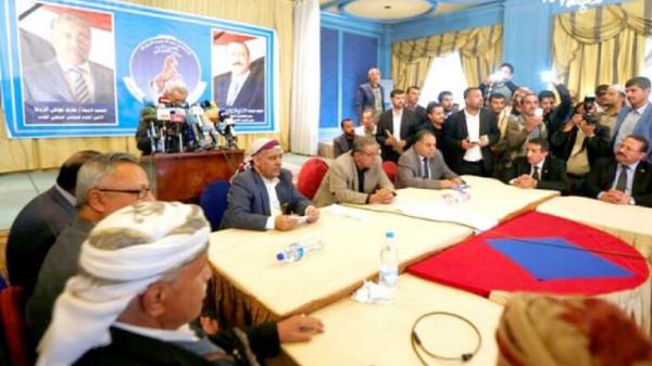 المؤتمر الشعبي العام يعلن مقاطعته لأعمال حكومة صنعاء