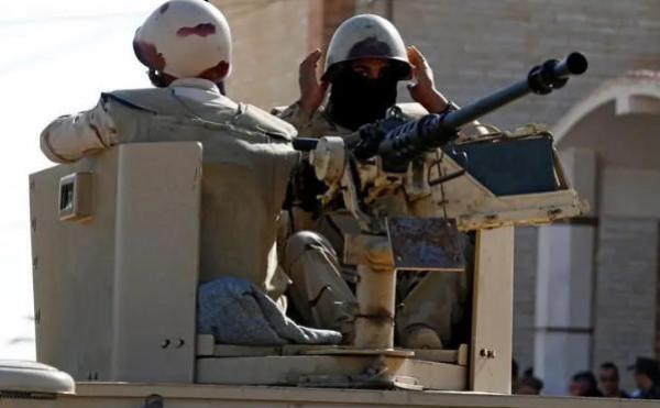 إصابة ثلاثة عناصر شرطة مصريين في شمال سيناء