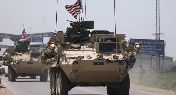شاهد: القوات الأمريكية تنسحب من سوريا باتجاه العراق