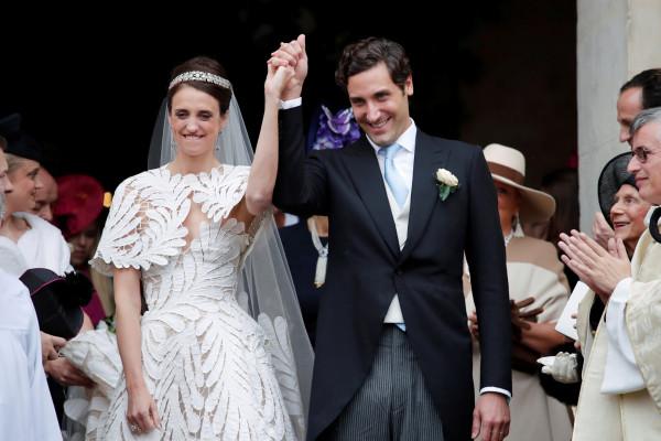 """زواج حفيد """"نابليون بونابرت"""" من حفيدة """"إمبراطور فرنسيّ"""" بحفلٍ أسطوريّ باريسيّ"""