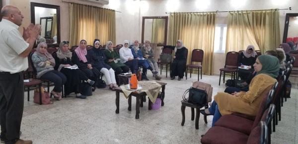 وزارة التنمية تعقد الورشة التدريبية الأولى في إدارة الحالة لمديرية طولكرم