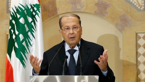 """الرئيس اللبناني: ما يَجري يُعبّر عن """"ألم الشعب"""" وتعميم الفساد ظلم كبير"""