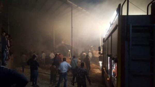 """""""الدفاع المدني"""" يكشف أسباب اندلاع حريقين في مزرعتين بالضفة مؤخراً"""