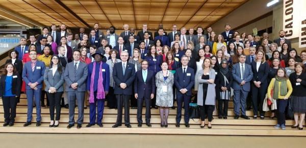 الوكالة الفلسطينية للتعاون الدولي تمثل فلسطين بالمؤتمر الدولي حول التعاون الثلاثي بالبرتغال