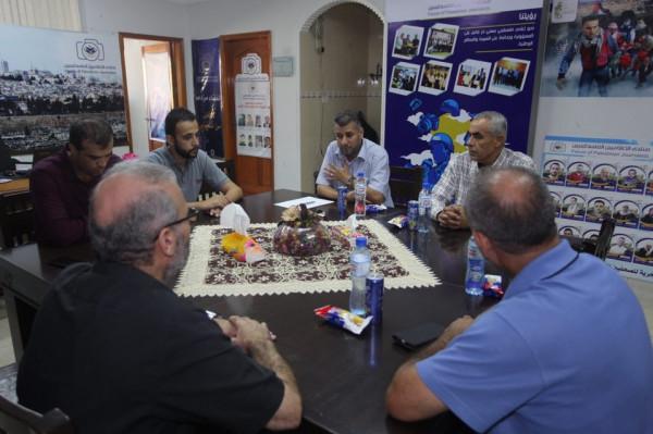 وفد من وزارة الأسرى يزور منتدى الاعلاميين الفلسطينيين