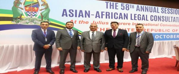 فلسطين تشارك في أعمال الدورة 58 لمنظمة (الالكو) في تنزانيا