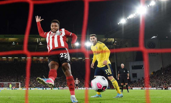 شاهد: آرسنال يخسر من شيفيلد يونايتد في الدوري الإنجليزي الممتاز