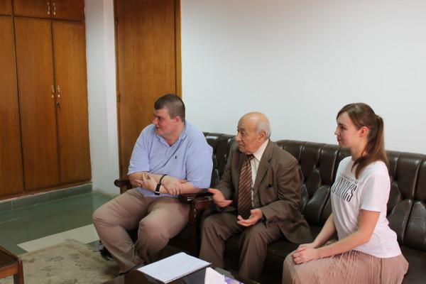 جامعة أسيوط تعلن عن وصول وفد طلابي جديد من جامعة  ببتاجوريسك الروسية