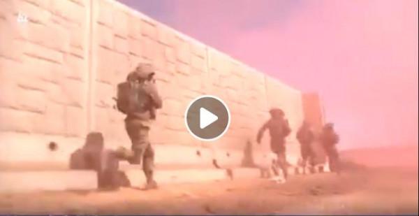 شاهد: كيف يتدرب جيش الاحتلال على اجتياح لبنان وغزة؟