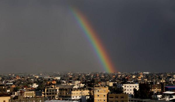 توقعات بهطول أمطار غزيرة على فلسطين الساعات المقبلة
