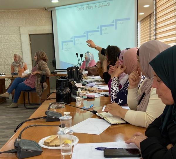 وزارة التنمية تعقد ورشتيْن تدريبيّتيْن في إدارة الحالة في الخليل
