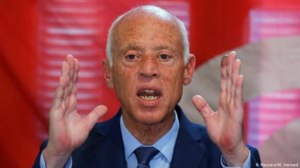 قيس سعيد: فلسطين بوجدان تونس وحرائرها وموقفنا ضد الاحتلال وليس اليهود