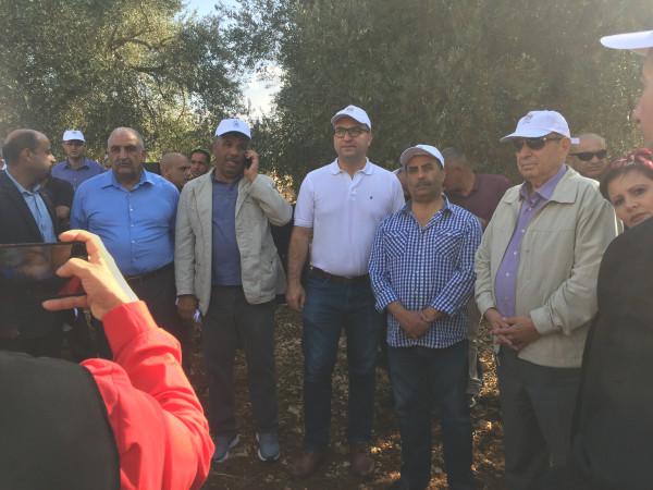 عطاري: وزارة الزراعة بصدد تنفيذ مشروع زراعي كبير في محافظة القدس