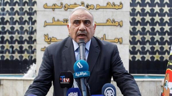 عبد المهدي: لم نَمنَح القوات الأمريكية المنسحبة من سوريا إذناً للبقاء بالعراق