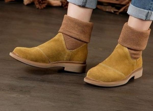"""ankle boots"" بلون جلد النمر والثعبان  9999001747"