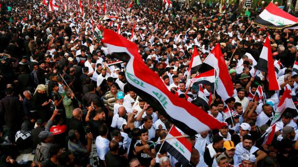 منظمة اقليمية تطالب بالتحقيق فى مقتل متظاهرين بالعراق وتدعو للالتزام بسلمية التظاهرات