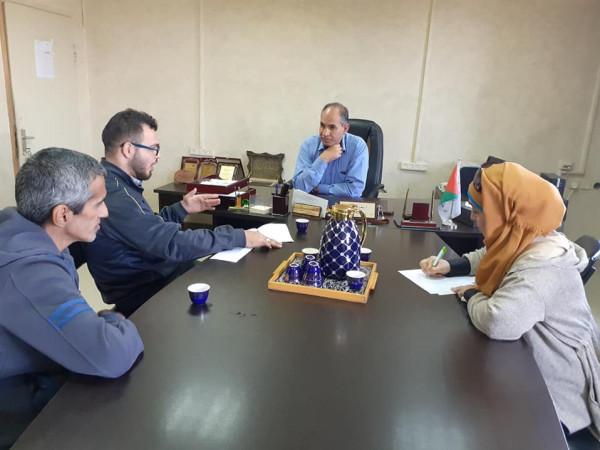 التنمية الاجتماعية واتحاد ذوي الإعاقة في بيت لحم يعقدان اجتماعا تنسيقا