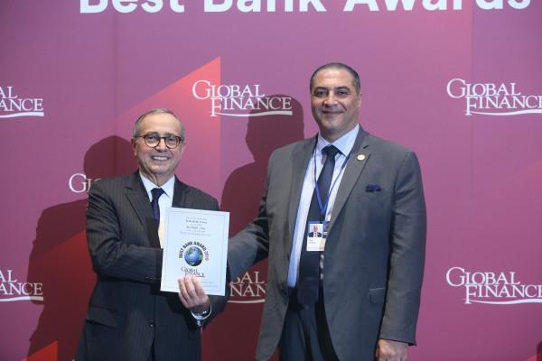 """المصرف العراقي للتجارة يتسلم جائزة """"المصرف الأكثر أماناً في العراق"""" لعام 2019"""