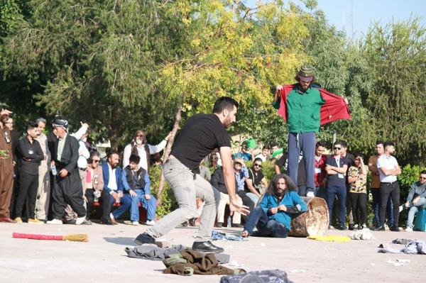 الحراك الشعبي بين لبنان والعراق في المسرح الوطني اللبناني