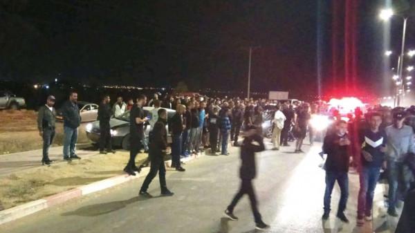 شاهد: مقتل شابين بإطلاق نار في النقب