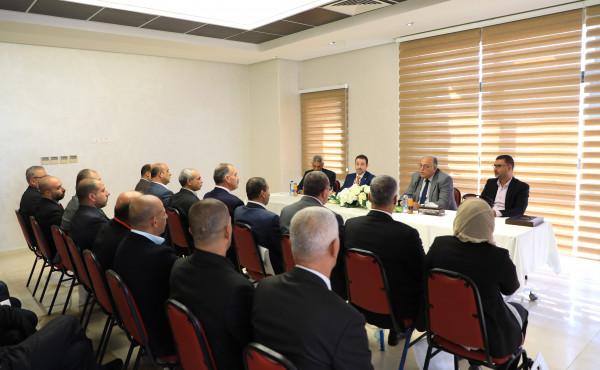 الجامعة العربية الأمريكية تستقبل وفداً من هيئة التدريب العسكري