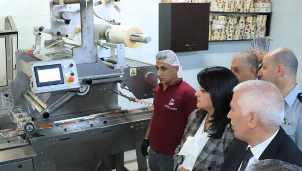 وزارة الاقتصاد الوطني تتفقد مصانع بيت لحم