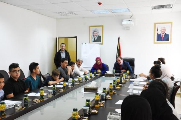 محافظة سلفيت تعقد لقاءً لتشكيل مجلس أطفال فلسطين جديد
