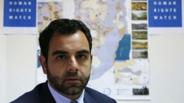 """حملة المقاطعة تدين قرار طرد ممثل """"هيومن رايتس ووتش"""""""