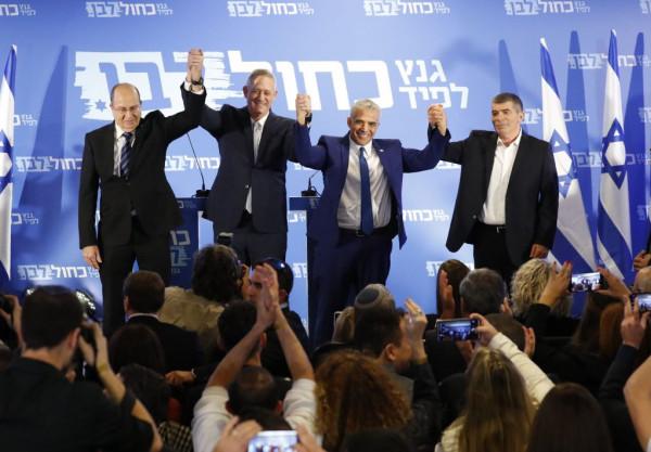 (أزرق- أبيض) تؤكد موافقتها على فرض السيادة الإسرائيلية بغور الأردن