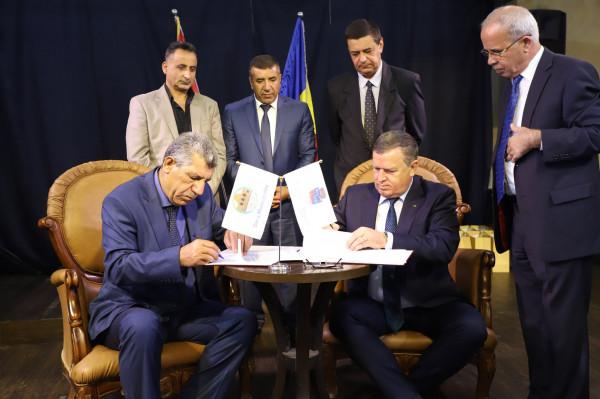بلدية دورا توقع اتفاقية توأمة مع بلدية رِامنيكو فالتْشا الرومانية