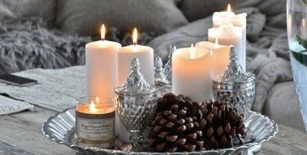 7 أفكار لتزيين المنازل بالشموع