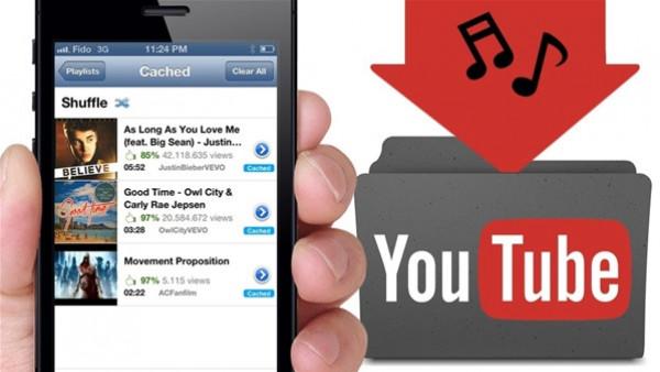 تحميل الأغاني من يوتيوب فى 4 خطوات