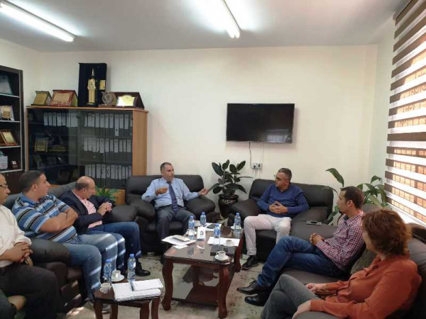 الأوقاف و(UNDP) يبحثان تطورات تشغيل وإدارة مقام النبي موسى