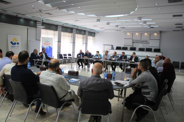 غرفة تجارة نابلس وشركة (شراكات) تنظمان لقاء تشاوري حول الاستثمار الزراعي