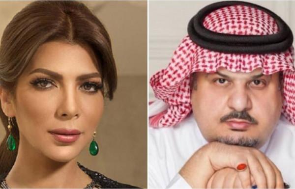 فيديو تقبيل الأمير السعودي عبدالرحمن بن مساعد لرأس الفنانة أصالة يثير ضجة
