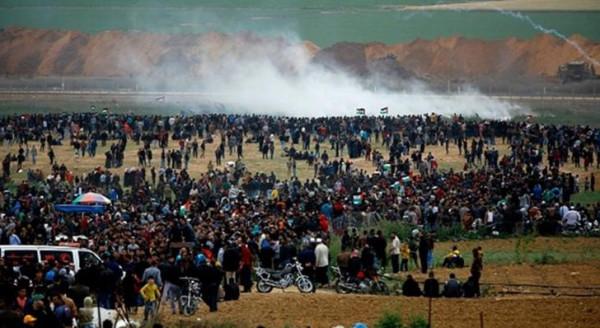 """قطاع غزة يستعد لمسيرات """"مستمرون"""""""