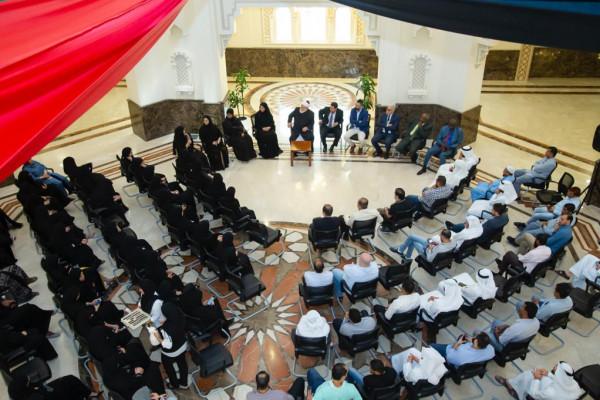 الجامعـة القاسمية تعقد لقاء مع أعضاء الهيئة الإدارية وتستعرض خططها