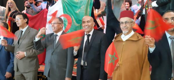 تكريم عبد الكريم وجواد السايح في افتتاح مهرجان هوارة