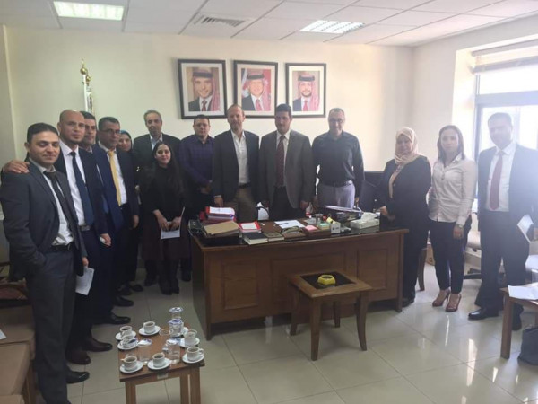وحدة الشكاوى بوزارة التنمية تشارك بجولة دراسية في عمان