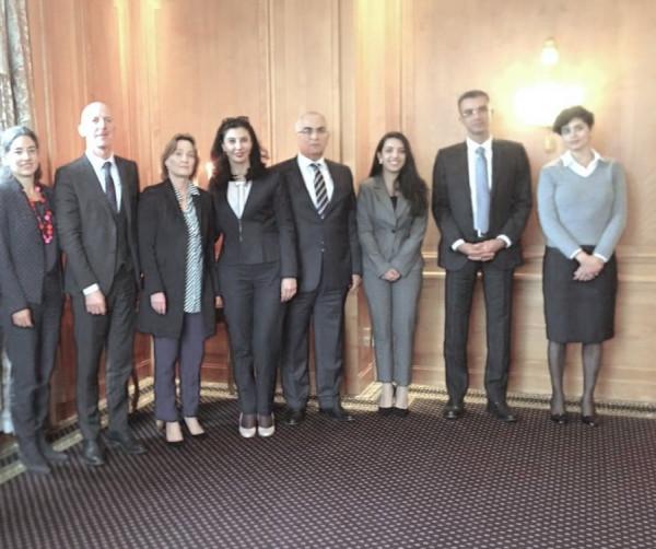 جادو تترأس جلسة مشاورات سياسية مع وكيل وزارة الخارجية السويسرية