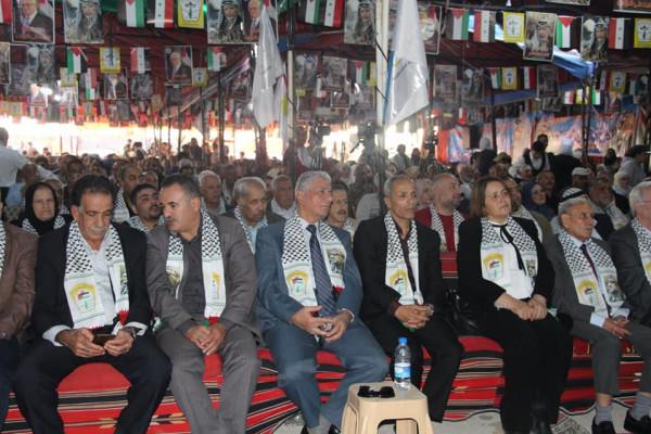 فصائل منظمة التحرير تحيي الذكرى 15 لاستشهاد القائد الرمز ياسر عرفات