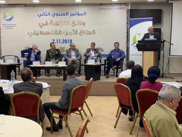 المنتدى المدني لتعزيز الحكم الرشيد بقطاع الأمن يطلق مقياس واقع النزاهة