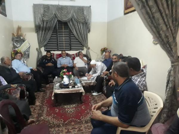 """""""إصلاح الجهاد"""" ترعى صلحاً عشائرياً بين عائلتين في محافظة غزة"""