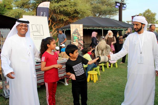 نادي تراث الإمارات يلون مهرجان التسامح والأخوة الإنسانية بالتراث