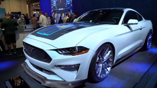 فورد تكشف عن Mustang الكهربائية بقدرات جبارة