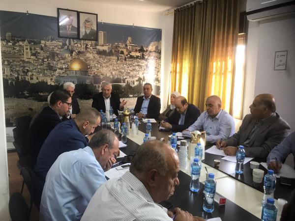 شاهد: اجتماع لقيادة حركة فتح يؤكد أن الرئيس عباس مرشحها لانتخابات الرئاسة