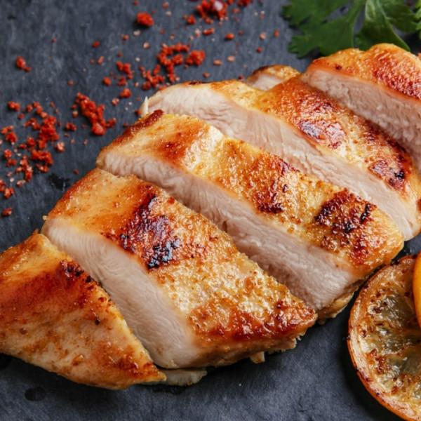 دجاج مشوي بالليمون والبهارات للرجيم
