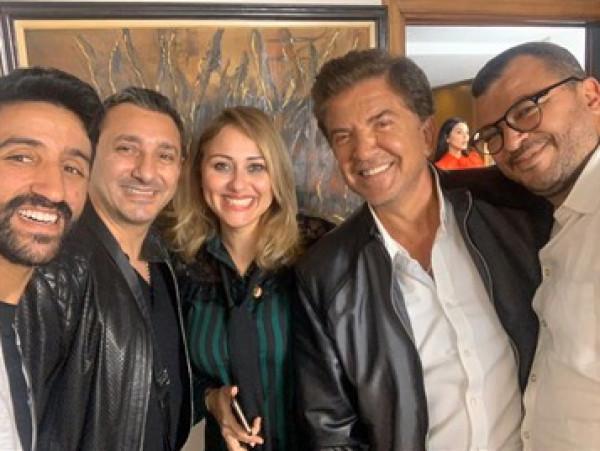 """رسميا وليد توفيق ضيف شرف المسلسل المغربي """" دابا تزيان """""""