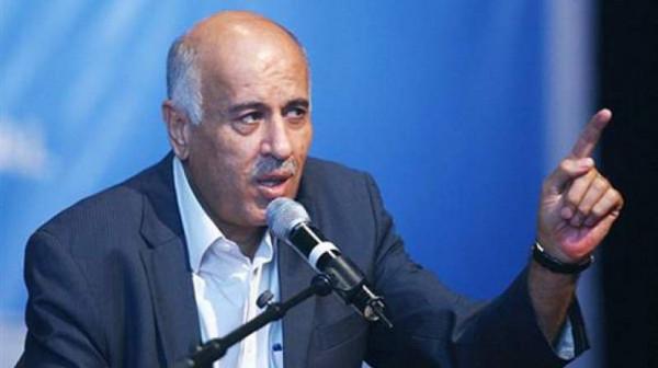 الرجوب: لقاء الفصائل بشأن الانتخابات بعد إصدار المرسوم ودون مشاركة الرئيس عباس