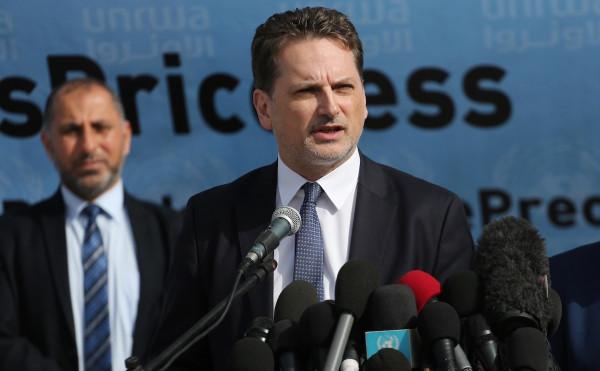 """""""دائرة وكالة الغوث"""" في الديمقراطية تعقب على استقالة المفوض العام لـ(أونروا)"""